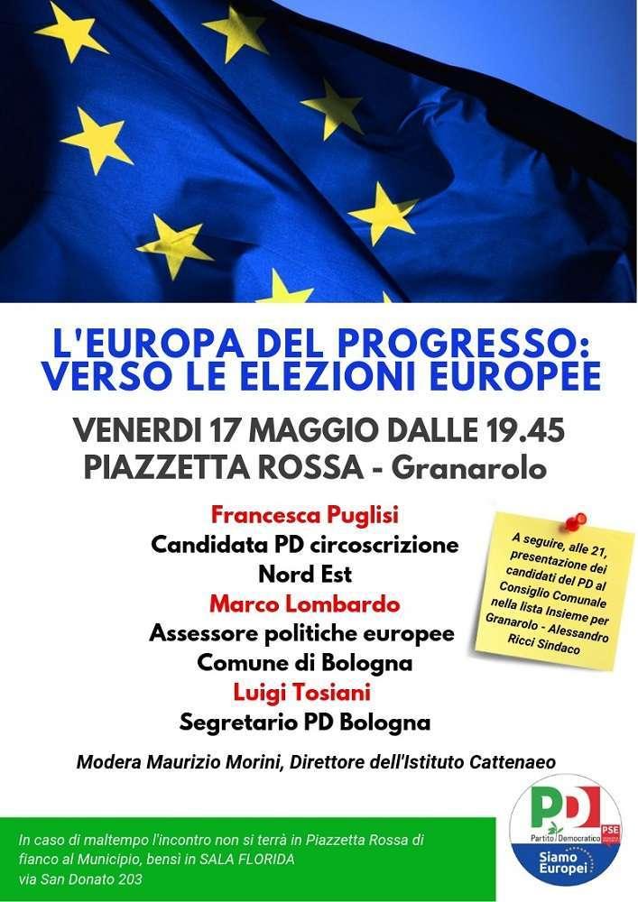 17 maggio Granarolo Elezioni Europee Francesca Puglisi