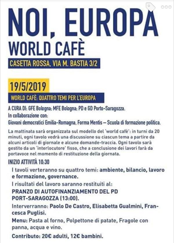 19 maggio Casetta Rossa Elezioni Europee Francesca Puglisi