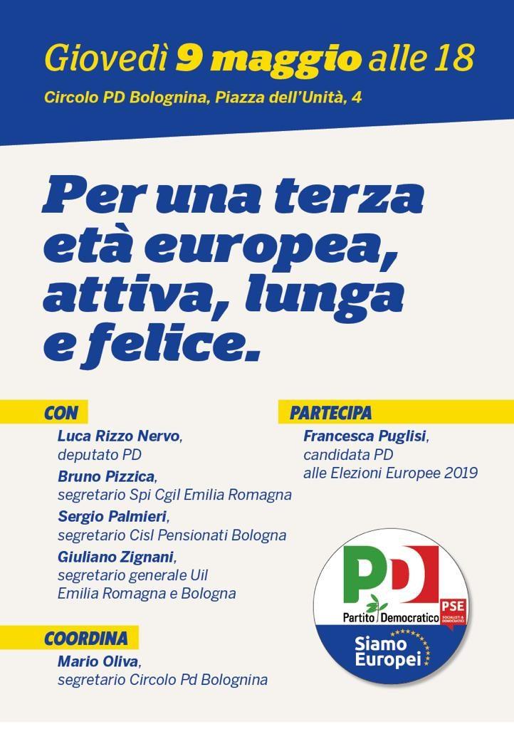Elezioni Europee, Puglisi, Circolo Pd Bolognina
