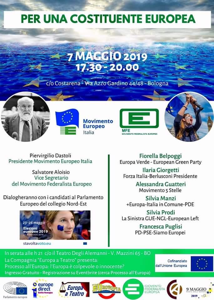 7 maggio elezioni europee Bologna Francesca Puglisi