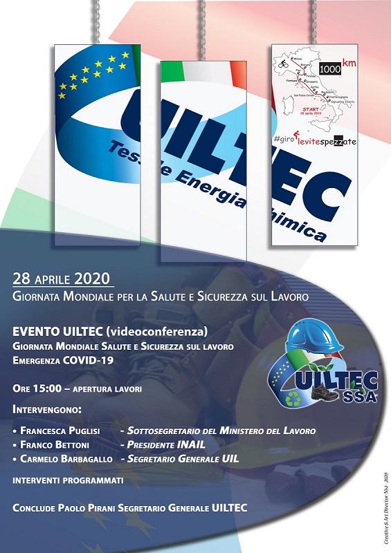 28 aprile 2020 Francesca Puglisi UILTEC