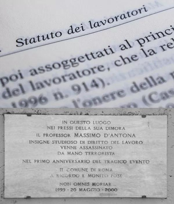 Massimo D Antona Lavoro diritto del lavoro statuto dei lavoratori