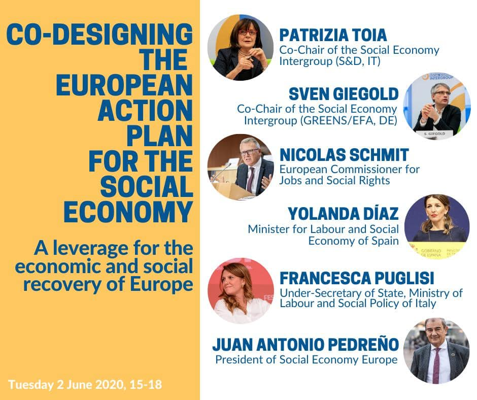 2020-06-02 Intergruppo europeo economia sociale